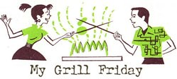 my grill friday | by rachel is coconut&lime