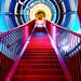 Stairs in Atomium