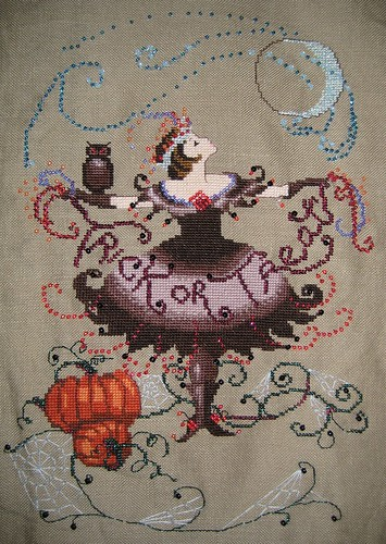 Cross Stitch - Halloween Fairy | by steph.clifford