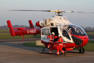 MD902 Explorer G-HAAT - Hertfordshire Air Ambulance - North Weald, February 2017 | by DanGB