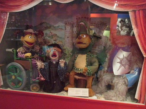 Puppets of Sesame Park