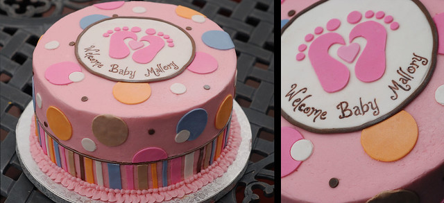 ten tiny toes baby shower cake | Flickr - Photo Sharing!