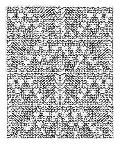 Ivy Lace Knitting Pattern : Ivy Lace diagram Working from a previous diagram, I create? Flickr