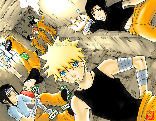 Naruto boy's 3 | Eles são d+! | Hyuga Mah | Flickr Gaara And Neji