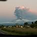 Volcan Llaima entra en erupción/ Llaima vulcano erupting