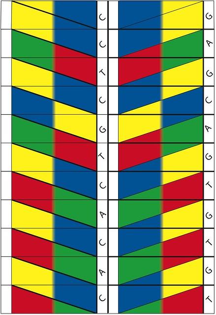 DNA origami template by Alex Bateman @alexbateman1 @sanger ... - photo#2