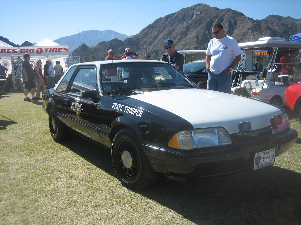 Ford Ssp Mustang Police State Trooper Texas 1982 1993