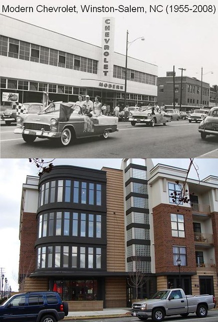 modern chevrolet winston salem nc then and now 1955 and flickr. Black Bedroom Furniture Sets. Home Design Ideas