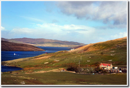 Cottage by the Voe, Shetland | by Theresa Elvin