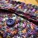 cross stitch scarf
