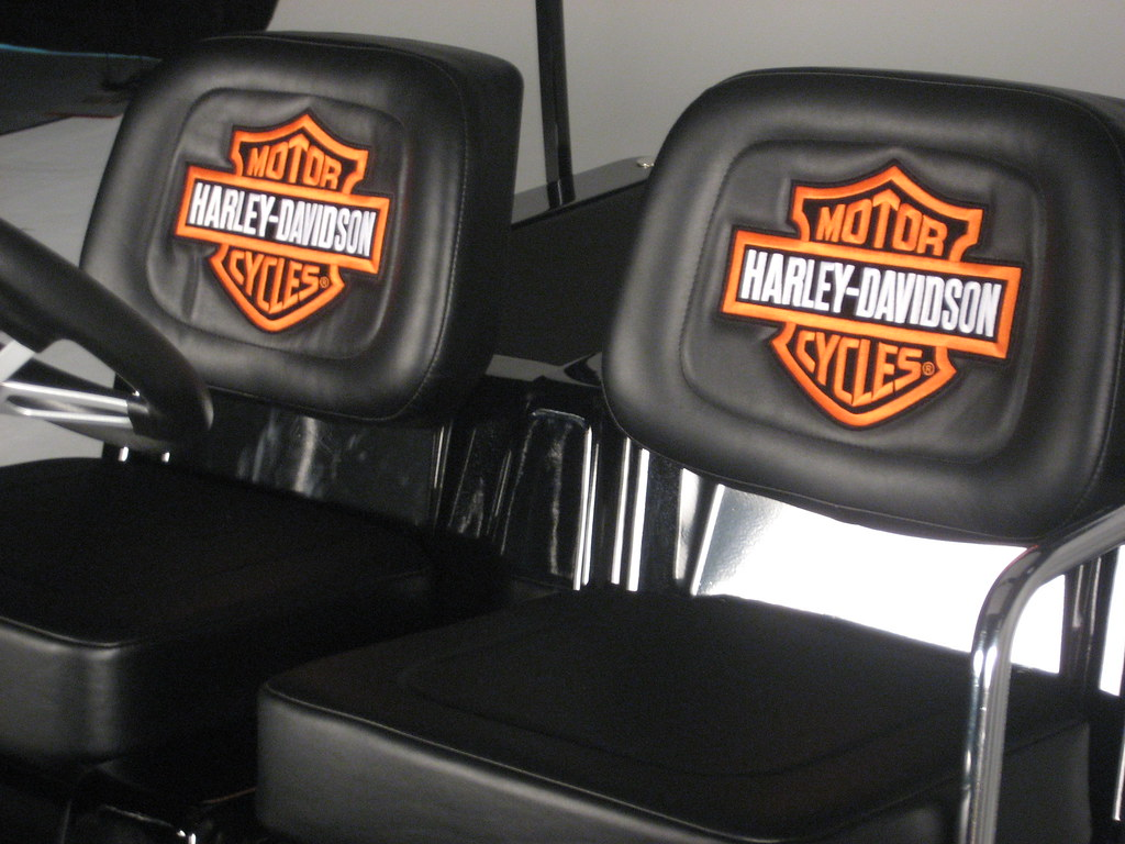 Seats For Harley Davidson Golf Cart