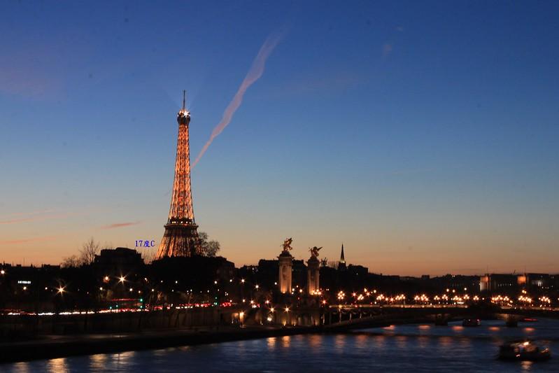 17度C法國只懂中文旅行-艾菲爾鐵塔-巴黎- (68)