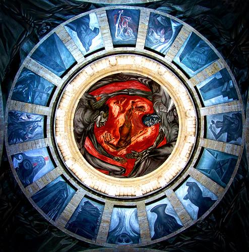 Hombre de fuego jos clemente orozco ego2005 flickr for El mural jalisco