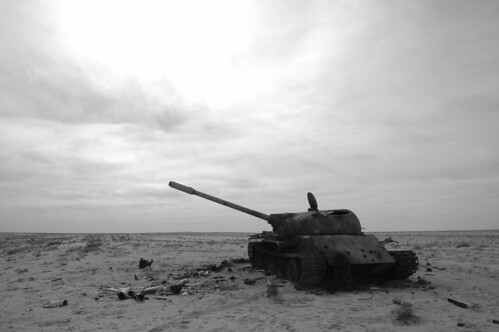 War Ain T Black And White In The Desert In Iraq Near