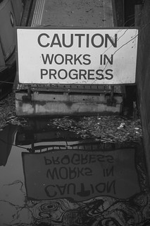 Caution Works in Progress & Reflection | by u07ch