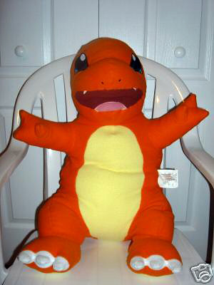 Unknown Large Charmander Pillow Company Set Big
