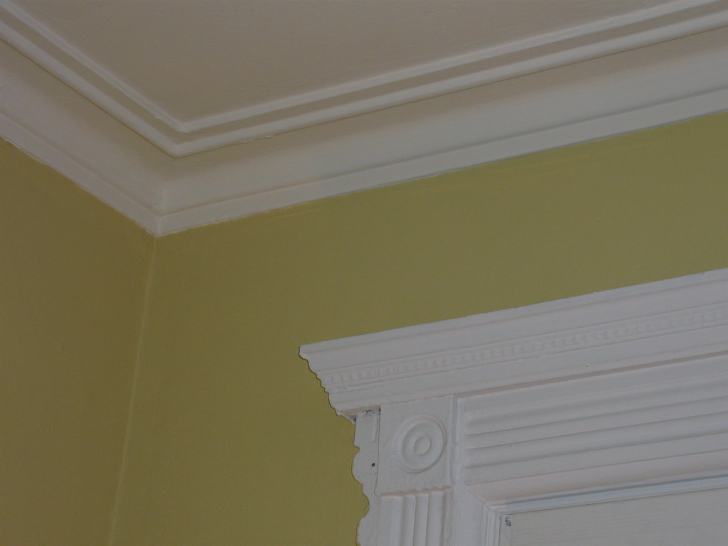 trim ceiling farrow ball in tallow wall color farrow flickr. Black Bedroom Furniture Sets. Home Design Ideas