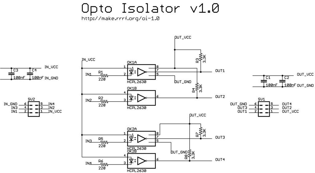 opto-isolator-schematic-1.0 | ッ Zach Hoeken ッ | Flickr