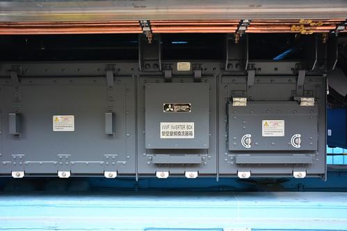 台中捷運綠線電車:VVVF變壓變頻換流器
