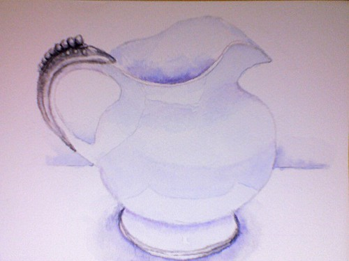 Week 7 Pottery and Pewter Pitcher | by bettyfromtexas