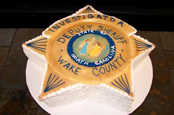 Wake Sheriff Cake Lynn S Traditions Www Lynnstraditions