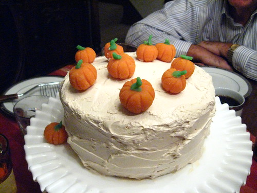 Pumpkin spice cake, yum! | by moonrat42