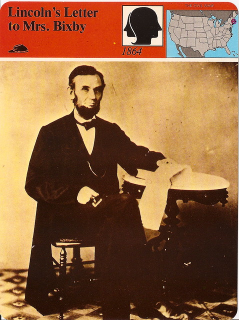 letter abraham lincoln mrs bixby president lincoln s condolence letter to mrs bixby story 13109