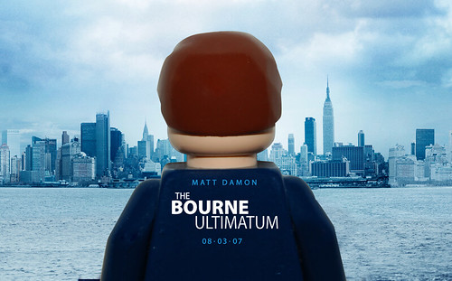 Bourne Ultimitium LEGO Poster | by Mr Craig Lyons.