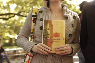 someone holding my book at Central park | by shauna | glutenfreegirl