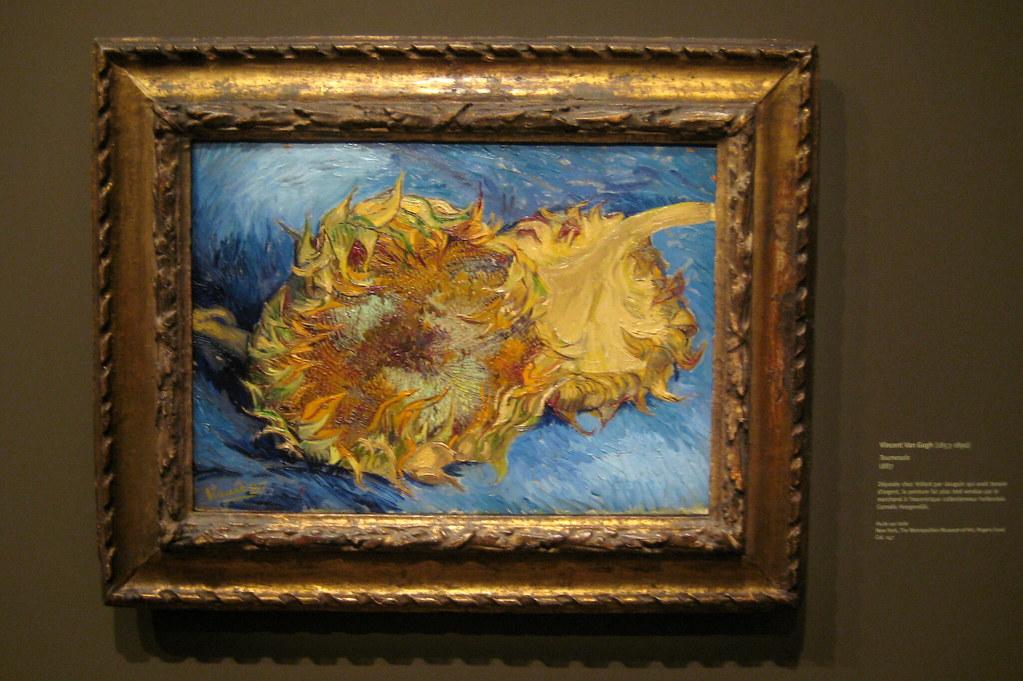 Paris - Musée d'Orsay - Vincent Van Gogh's Two Cut Sunflow