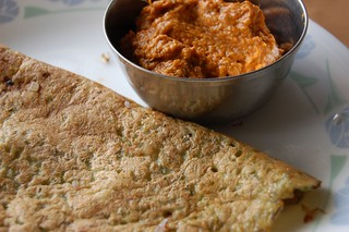Pesarattu and Ginger chutney | by ukanda