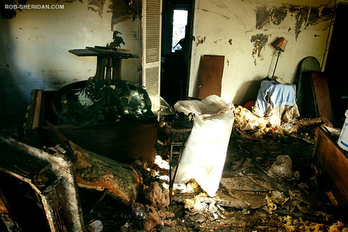 Inside A Flooded House - New Orleans, LA | Post-Katrina ...