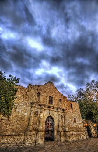 HDRemembering the Alamo - Textured at Dusk | by Stuck in Customs