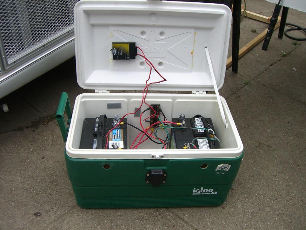 Boat Battery In Car