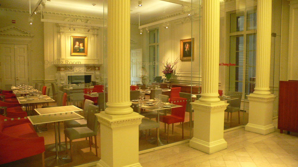 ... The Morgan Dining Room@The Pierpont Morgan Library Museum | By Kenzo*