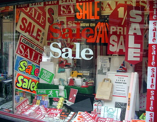 Sale In A Sale Shop Selling Sale Signs | by the justified sinner