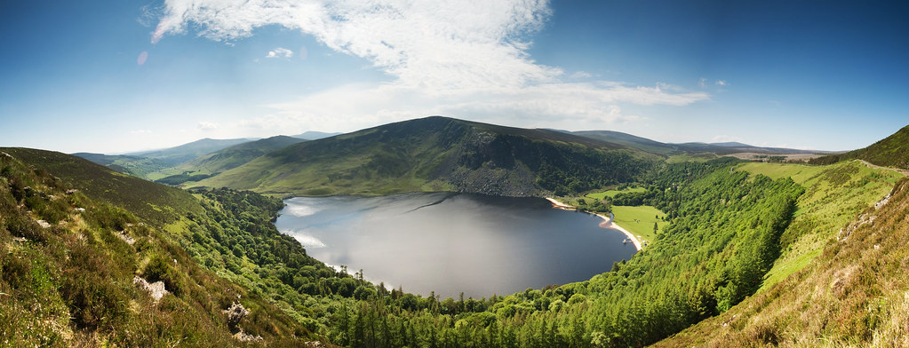 how to get to lough tay