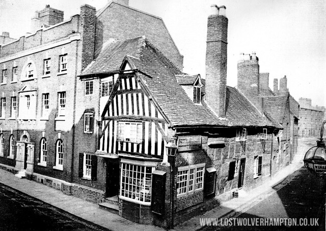 The Hand Inn, as it looked around 1880.