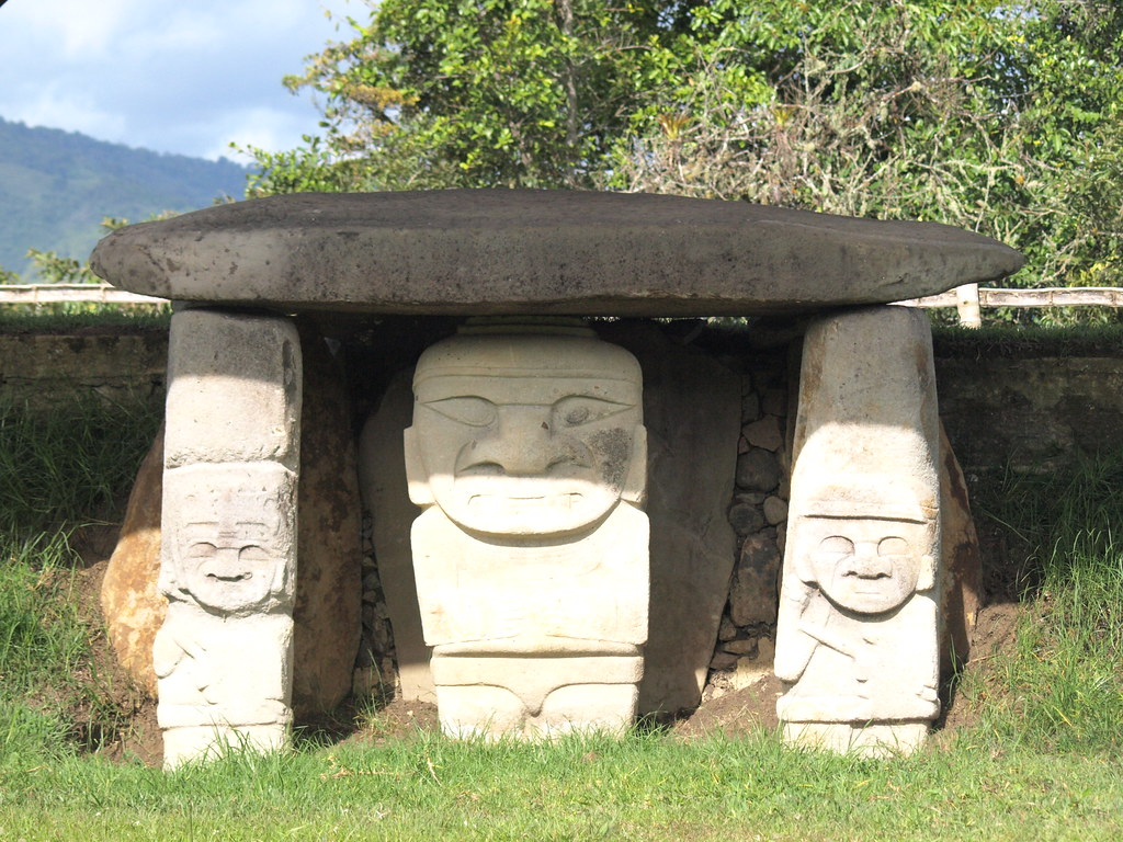 Colombia. Parque Arqueológico San Agustín