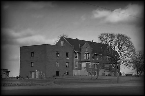 Ashmore Estates Abandoned Mental Hospital Outside Of
