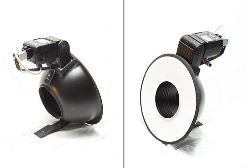 DIY ringflash finished, without camera | by akeeh