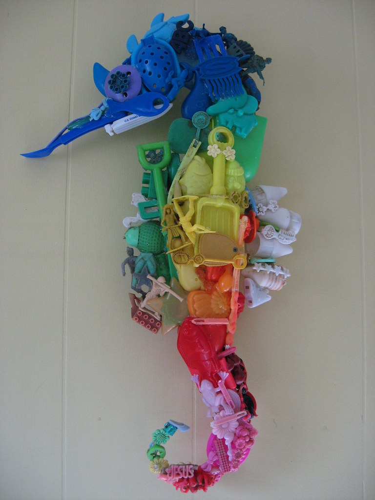 Seahorse Art And Craft