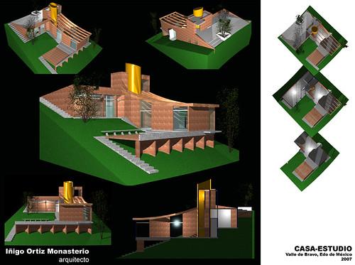 Casa estudio 2 casa estudio para un artista en valle de - Casas en llica de vall ...