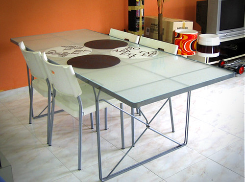 ikea glass dining table Ikea Tempered Glass dining table $150 | Still new! lightly u… | Flickr ikea glass dining table