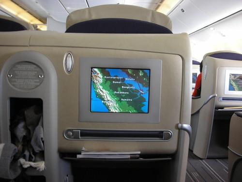 Air france 777 300er business class reg n a enroute for Interieur 777