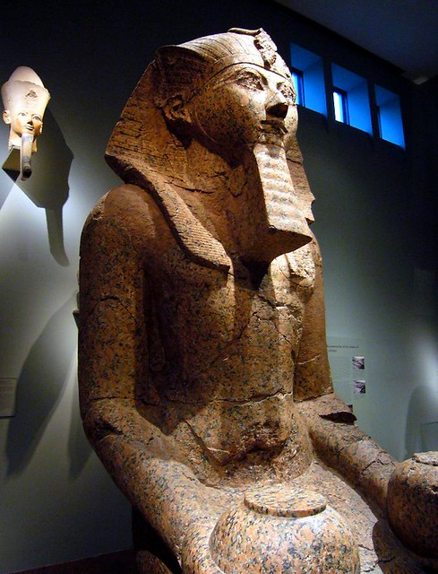 Large Kneeling Statue Of Hatshepsut Dynasty 18 Joint