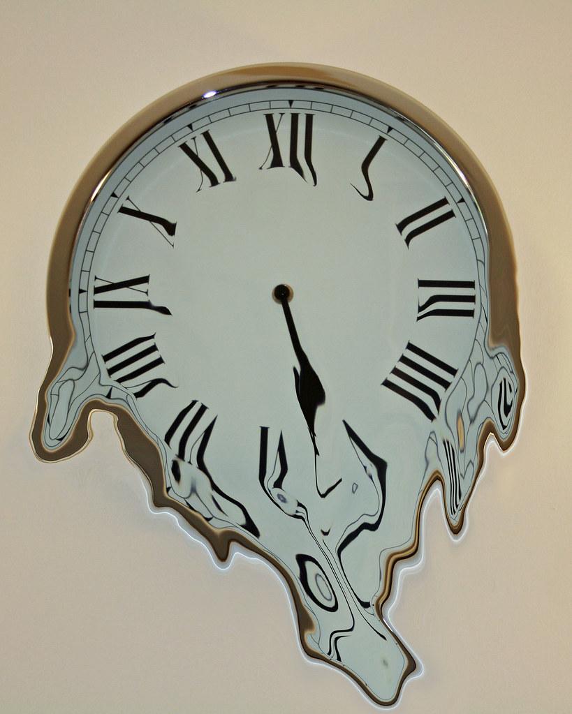 Dali Esque Melting Clock Eshva Flickr
