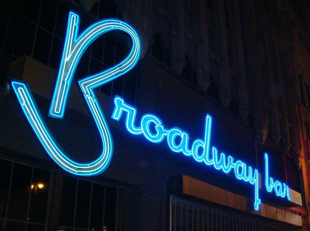 neon bar sign hire