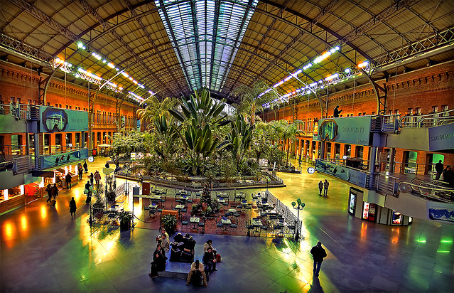 panoramica jardin botanico de atocha mejor en grande