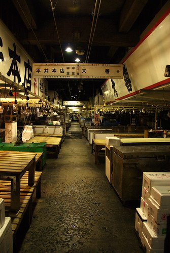 Tsukiji - before the day begins | by oceanaris